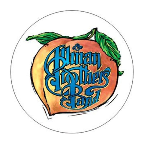 Allman Brothers Peach Button