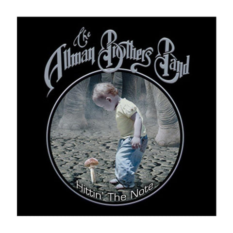 Allman Brothers Shroom Kid Button