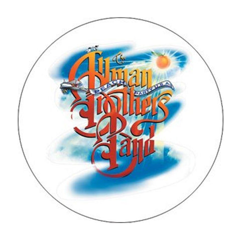 Allman Brothers Sunset Button