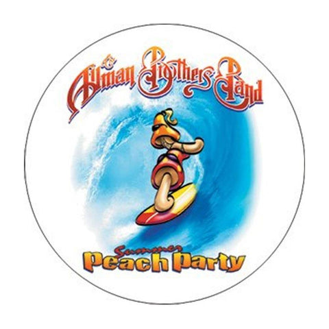 Allman Brothers Surfin Button