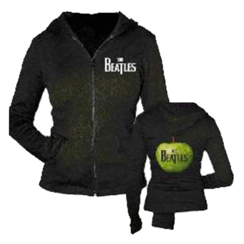 The Beatles Green Apple Women's Zip Hoodie