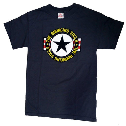 The Bouncing Souls Fighter Star Men's T-Shirt