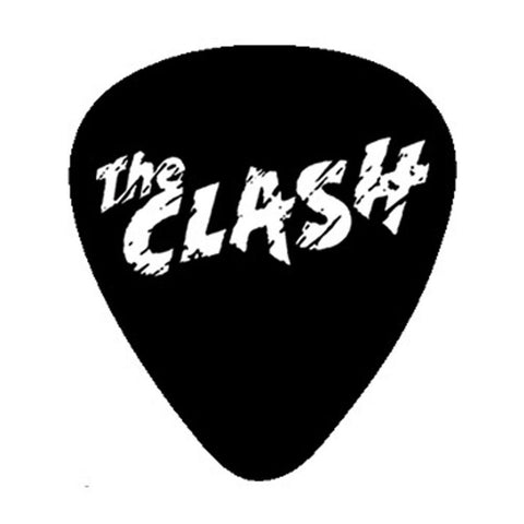 The Clash Band Logo Guitar Pick