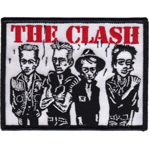 The Clash Caricature Patch