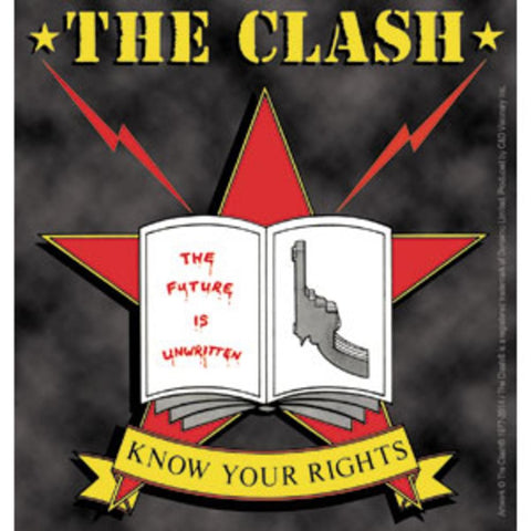 The Clash Know Your Rights Sticker