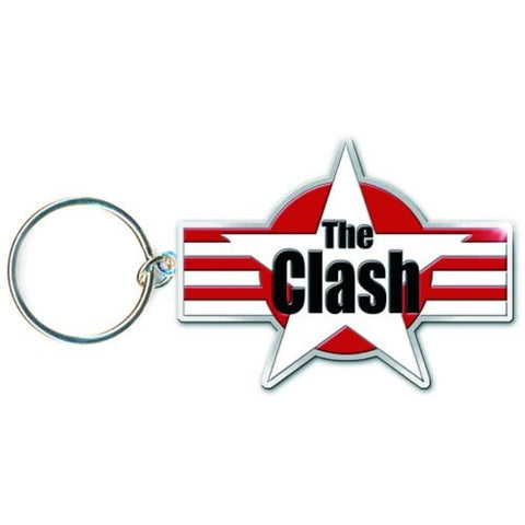 The Clash Stars And Stripes Metal Keychain