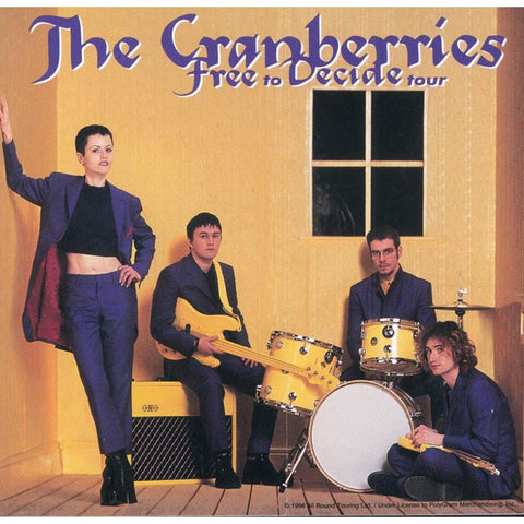 The Cranberries Free to Decide Sticker