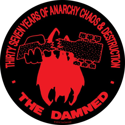 The Damned Thirty Seven Years Woven Patch
