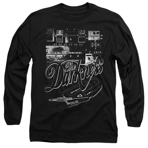 The Darkness Pedal Board Men's 18/1 Cotton LS T