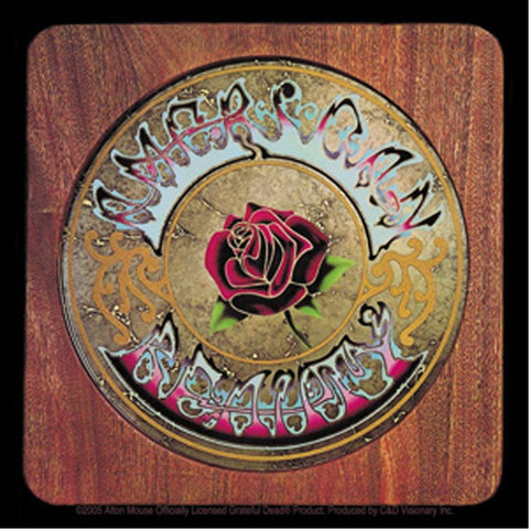 The Grateful Dead American Beauty Sticker