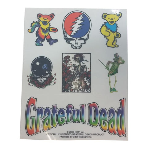 The Grateful Dead Assorted Icons Sticker Set