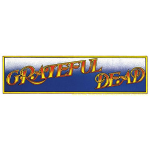 The Grateful Dead Band Logo Sticker