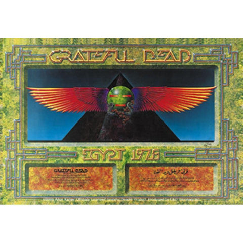 The Grateful Dead Egypt 78 Sticker