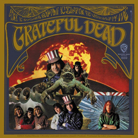 The Grateful Dead First Album Sticker