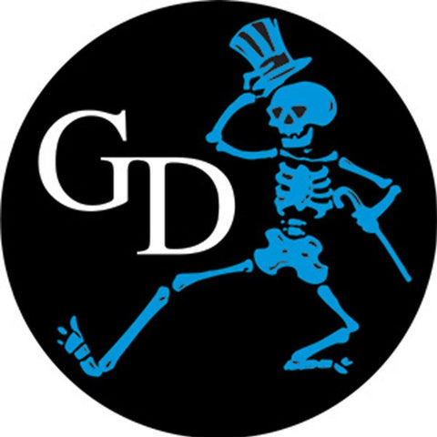 The Grateful Dead Gd Skeleton Sticker