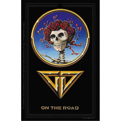 The Grateful Dead On The Road Sticker