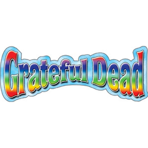 The Grateful Dead Rainbow Logo Sticker