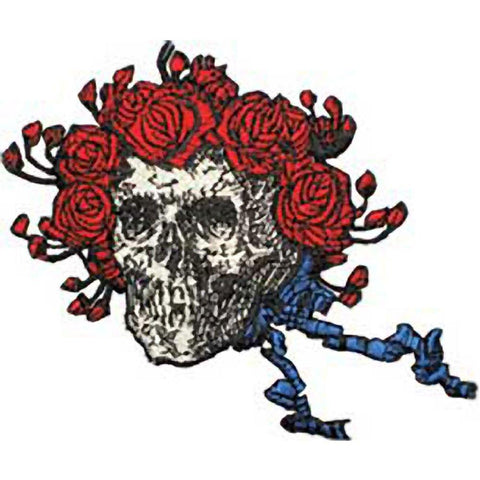 The Grateful Dead Skull And Roses Embroidered Patch