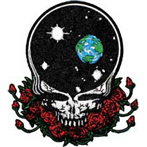 The Grateful Dead Space Your Face Embroidered Patch