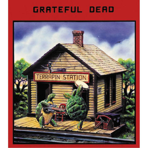 The Grateful Dead Terrapin Station Sticker
