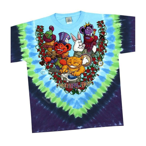 The Grateful Dead Wonderland Jamband Men's T-Shirt