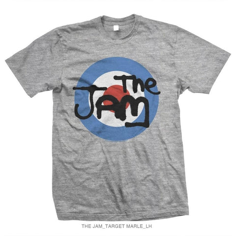 The Jam Grey Target Men's T-Shirt