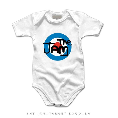 The Jam Target Logo Infant One-Piece Bodysuit