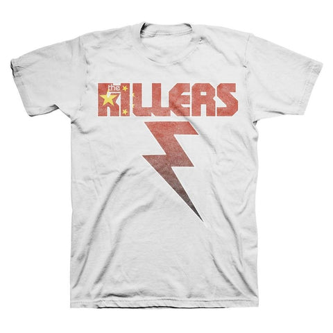 The Killers China Flag Bolt Men's T-Shirt