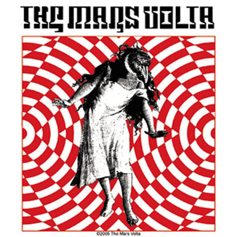 The Mars Volta Bird Girl Sticker