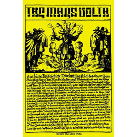 The Mars Volta Combustion Ii Sticker