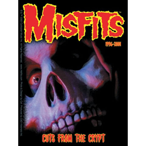 The Misfits 1996-2001 Cuts From The Crypt Sticker