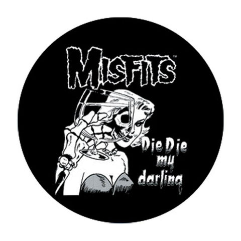 The Misfits Die Die Button