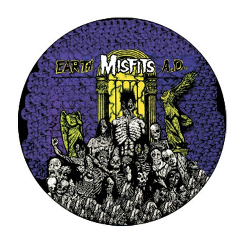 The Misfits Earth Ad Button