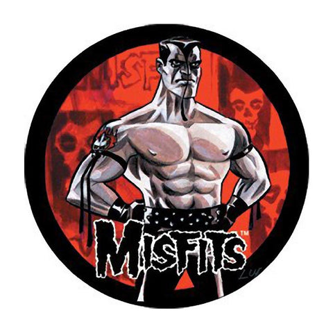 The Misfits Muscle Man Button