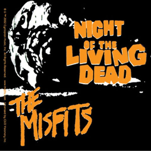 The Misfits Night Of The Living Dead Sticker
