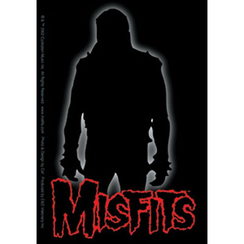 The Misfits Silhouette Logo Sticker