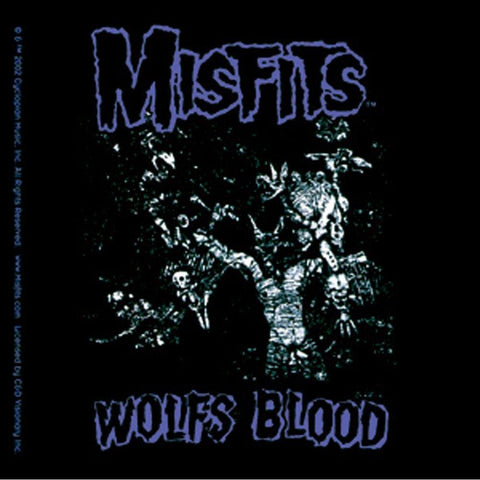 The Misfits Wolf S Blood Sticker