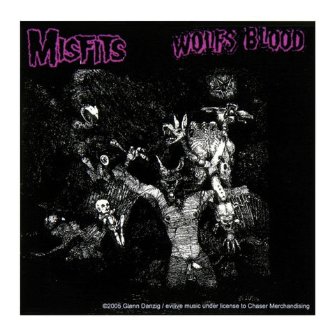 The Misfits Wolf's Blood Sticker