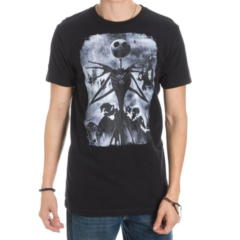 The Nightmare Before Christmas Jack Arms Crossed Men's T-Shirtá