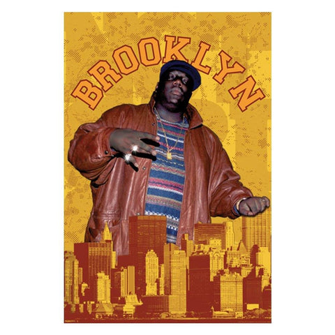 The Notorious B.I.G. Brooklyn Wall Poster