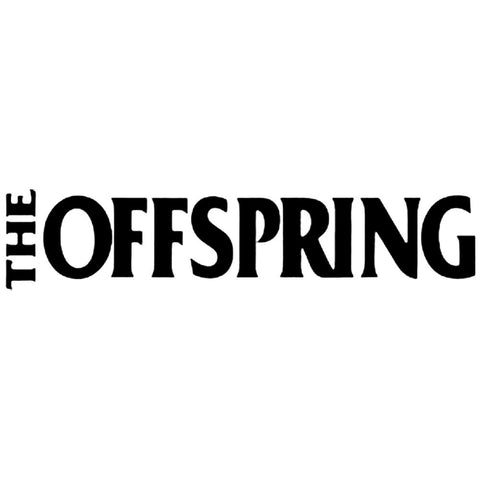 The Offspring Logo Rub-On Sticker - Black