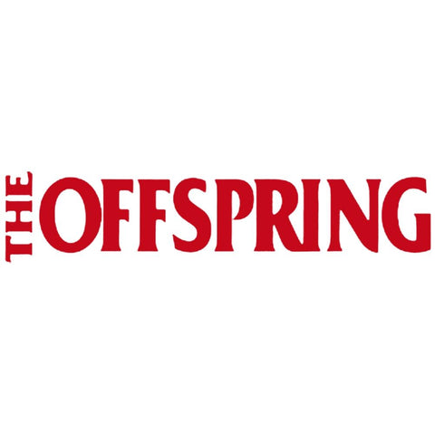 The Offspring Logo Rub-On Sticker - Red