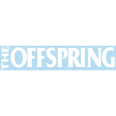 The Offspring Logo Rub-On Sticker - White