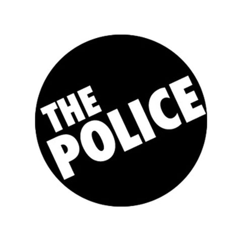 The Police Logo Button