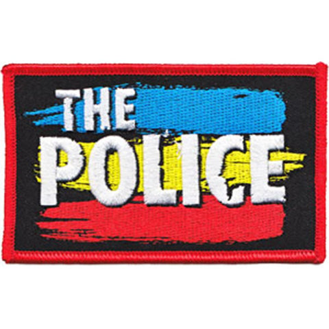 The Police Striped Logo Patch