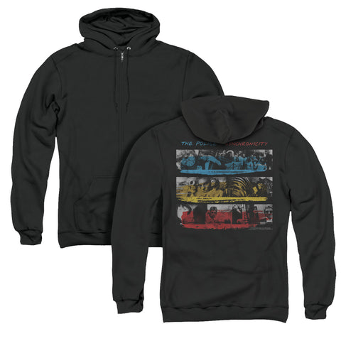 The Police Syncronicity (Back Print) Men's Pull-Over Hoodie