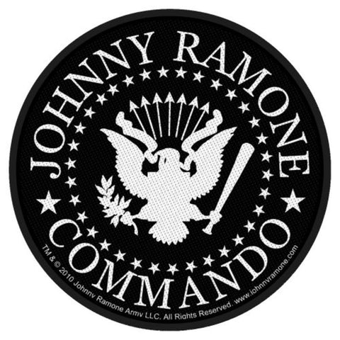 The Ramones Commando Seal Woven Sew-on Patch