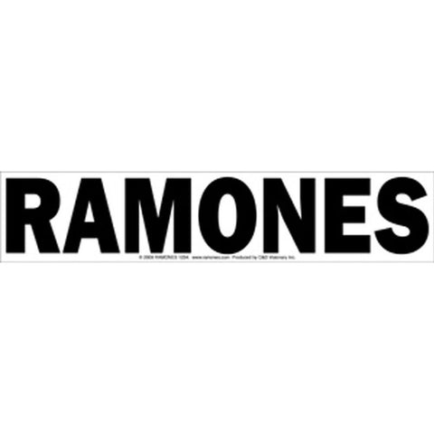 The Ramones Logo Sticker