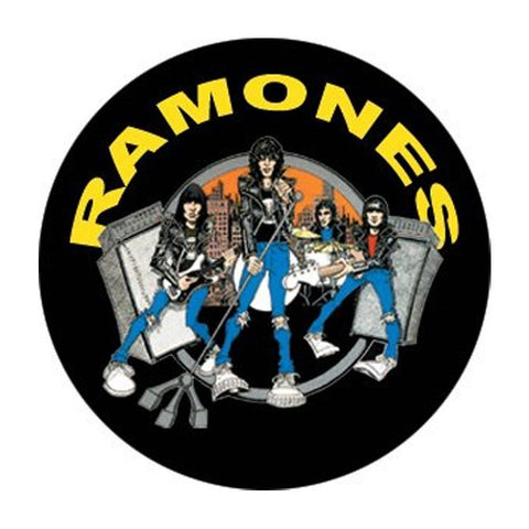 The Ramones Road To Ruin Button
