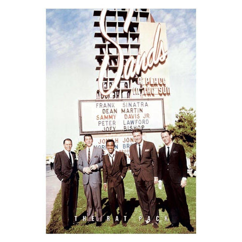 The Rat Pack Sands Wall Poster